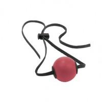 Кляп с резиновым шаром Ball Gag, красный