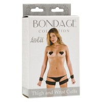 Оковы Bondage Collection Thigh and Wrist Cuffs
