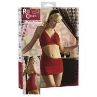 Сексуальное платье RED CORNER, красное