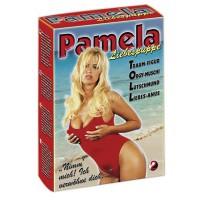 Секс-кукла надувная Pamela, телесная, ПВХ