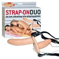Вибрострапон Strap-On Duo двухсторонний
