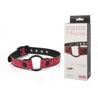 Кляп - кольцо O Ring Gag, розовый, винил