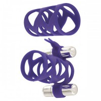 Насадка Double Tickler Sleeve Set Purple,силикон
