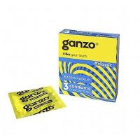 Презервативы GANZO CLASSIC № 3 классические с обильной смазк...