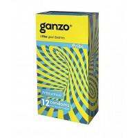 Презервативы GANZO RIBS № 12 ребристые